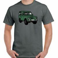 Solo Mens Funny T-Shirt 90 110 127 4X4 Off Road SVX Defenders Rover Top