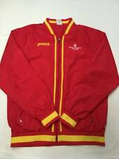 Mens JOMA Red Spain Espana Soccer Windbreaker Jacket Sz L