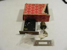 """Vtg NOS Yale Door Lock Keyed Brass Cylinder 324    2 3/4""""  (C)"""