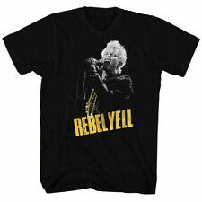 Billy Idol Rebel Yell T Shirt Mens Licensed Rock N Roll Band Tee Retro New Black