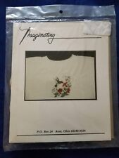 Imaginating Hummingbird Waste Canvas Kit With Seed Beads and Floss