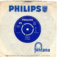 THE DIAMONDS the lost city*chasey chasey 1963 UK PHILIPS 45