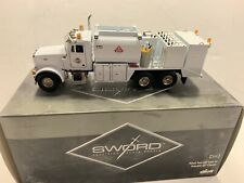 CONRAD NZG SWORD Peterbilt 357 Elliott Fuel & Lube Truck - White