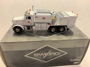 CONRAD NZG SWORD Peterbilt 357 Elliott Fuel & Lube Truck - White