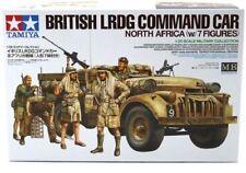 TAMIYA BRITISH LRDG COMMAND CAR NORTH AFRICA W/ FIGURE 1:35 32407