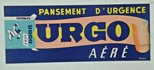 AFFICHE PUB ANCIENNE PANSEMENT D' URGENCE URGO HAVAS