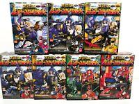 Power Rangers MEGA FORCE Goseiger Mini Pla Wonder Gosei Great Set of 7 Japan NEW