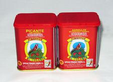 Spanish Paprika: 1 Hot & 1 Bittersweet Smoked (2x125g tins pack)