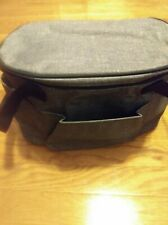 Thirty One 31 Get Creative Round Caddy Charcoal Crosshatch