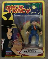 New listing 1990 Dick Tracy Itchy Action Figure Playmates Sealed!