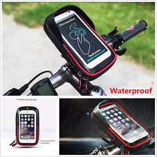 Waterproof Motorcycle Handlebar Mount Sunshade Holder Bag Case for Mobile Phone