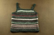 C#258 NWT Cayon River Blues woold Sweater Tank Top  Size Medium, M