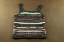 C#258 NWT Cayon River Blues woold Sweater Tank Top  Size Medium, M