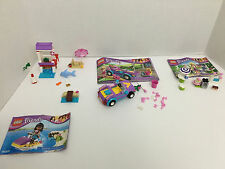 Lot LEGO Friends Sets *3183 * 41028 * 3930 * 41000