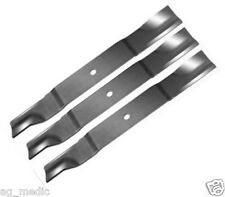 "Set of 3 Gravely & Ariens 60"" Cut Mower Blades Code 09081200 USA Made"
