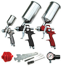 ATD Tools 6900 9 Pc. HVLP Spray Gun Set with Face Masks