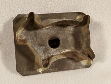 Antique Primitive Tin Soldered Cookie Cutter ~ Sheep Lamb