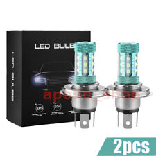 6 Sides H4 LED Headlights 110W 20000LM FOG Light Bulbs 8000K Blue Driving Lamps