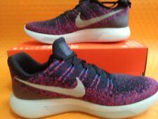 New Brand Nike Lunarepic Low Flyknit2 (863779 015) Black/Reflect Silver Sz 9.5