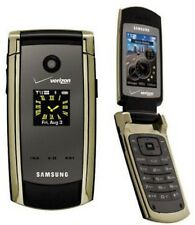 Samsung GLEAM Series SCH-U700 No-Contract VERIZON Flip Cell Phone GOLD