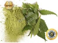 Organic Neem Dried Leaf Powder 100% Pure export qualty