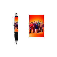 The Big Bang Theory mit allen Darstellern - TOP Fan Kugelschreiber [K2]