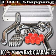 FMIC Intercooler+ Piping kits+Silicone+Clamp fit 89-94 Nissan 240SX CA18DET ONLY