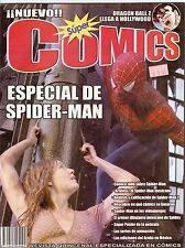 "REVISTA SUPER COMICS MEXICO, ""Especial de Spider Man, KALIMAN, DRAGON BALL Z,"