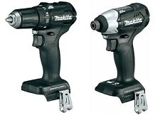 "New Items: Black Makita XFD11 18V 1/2"" Brushless Drill + XDT15 Brushless Impact"