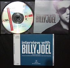BILLY JOEL - SOUVENIR INTERVIEW CD AUSTRALIA