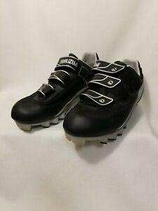 Pearl Izumi Quest MTB 5727 Black Cycling Shoes Mens Size 9.5 M EU 43 With Cleats