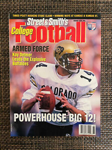 Street & Smith College Football 1996: Near Mint Condition