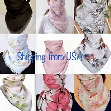 Scarf face mask cover. 20 Choices Of Floral & solid designs. Ships from US🇺🇸