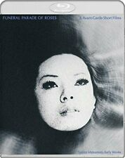 Funeral Parade of Roses (Blu-ray Disc, 2017, 2-Disc Set) LGBT Japanese Classic!