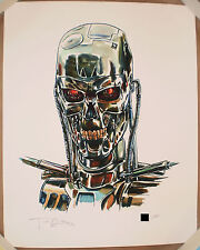 Tim Doyle Terminator Shiny Objects Giclee Print Signed #d /200 Poster Nakatomi