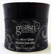 Nail Harmony Gelish Hard-Gel LED/UV Clear Builder - 1.6oz (50 mL) (01565)