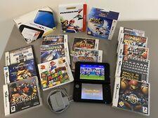 LOT Nintendo 3DS XL Ambassador programme + 15 jeux en boite + 38 jeux installés