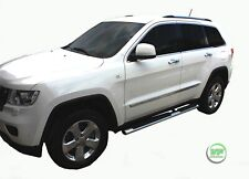 JEEP GRAND CHEROKEE 2011-up  Side bars CHROME stainless steel side steps OVAL