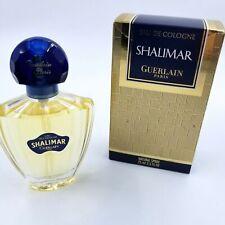 Shalimar Guerlain Paris Eau De Cologne 75 mL 2.5 fl oz New Blue Cover Perfume