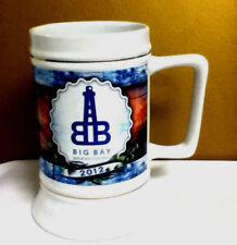 Big Bay Brewing Company 2012 stein mug beer glass bar glasses 1 micro pub NJ7