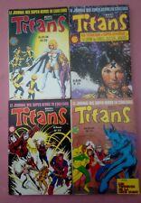 Joli Lot 4 reliures TITANS 25/26/29/30 1985/1986