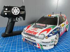 Vintage Tamiya 58218 RC 1/10 Toyota Corolla WRC Castrol TA-03R with ESC Remote