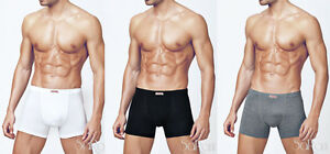 3 Boxer Man Underwear Primal White Black Blue Grey Bielastic Art.3201 Sarani