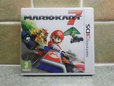 Mario Kart 7 un juego original de Reino Unido PAL 3DS. con tarjeta no utilizados Nintendo Club Puntos