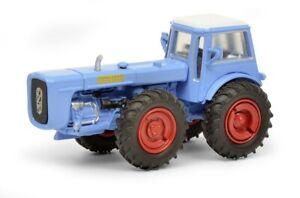 Schuco 26412 - 1/87 Dutra D4K Avec Cabine, Bleu - Neuf