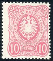 DR 1880, MiNr. 41 I a, tadellos postfrisch, gepr. Wiegand, Mi. 120,-
