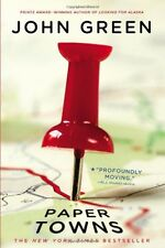 Paper Towns, by John Green Paperback 2009, New, Free Shipping