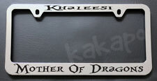 Khaleesi Mother Of Dragons Game of Thrones Fans Chrome License Plate Frame
