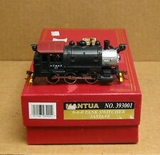 Mantua 393-001 HO Santa Fe 0-6-0 Tank Switcher w/decoder, no sound