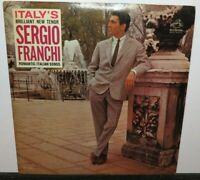 SERGIO FRANCHI ROMANTIC ITALIAN SONGS (VG+) LM-2640 LP VINYL RECORD